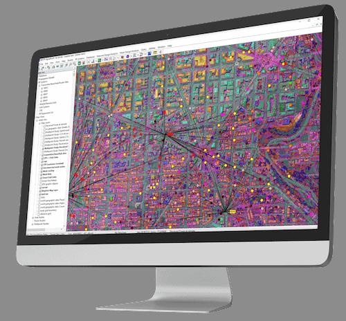 wireless terrain mapping