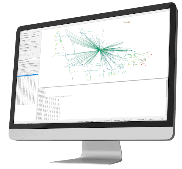 Wireless planning Analyzation  with replay
