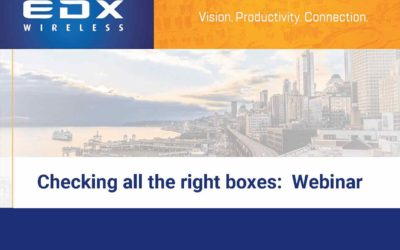Checking all the right boxes:  Webinar