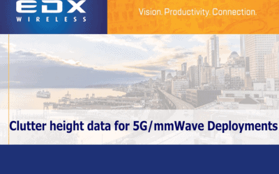 Clutter Height Data for 5G & mmWave Deployments:  Webinar